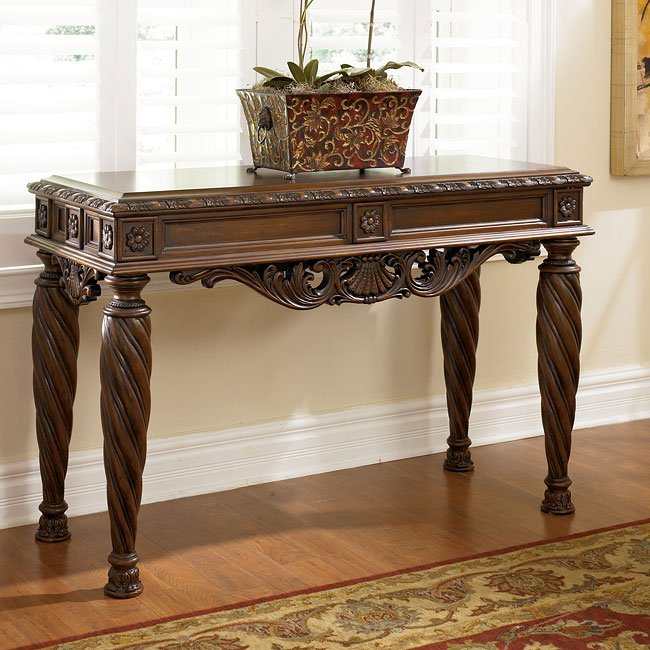 Marble Coffee Table Ashley Furniture: North Shore Sofa Table Signature Design By Ashley