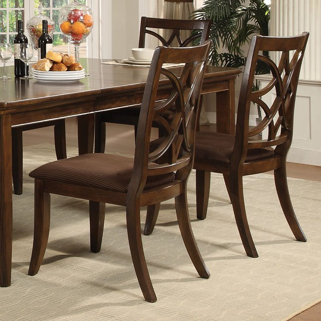 Society Hill Espresso Side Chair Set Of 2 By World Imports Furniturepick