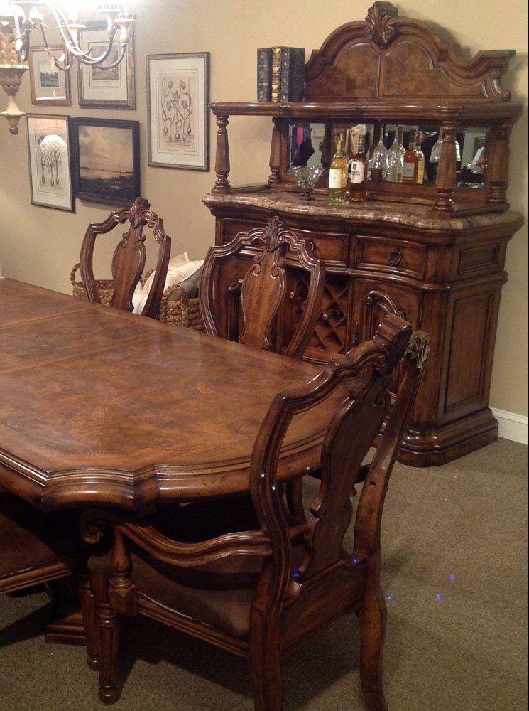 San Mateo Dining Room Set Pulaski Furniture Furniturepick