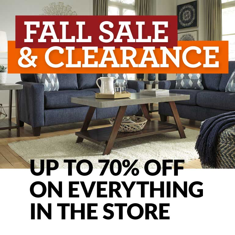 Fall Furniture Sale by Ashley Furniture